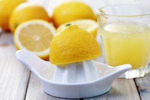 Citroensap tegen dorst