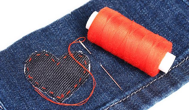 Creatief lapwerk voor T-shirts, broeken en tasjes