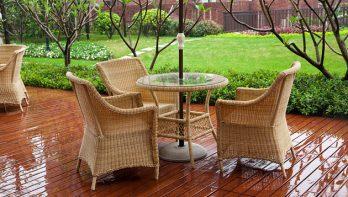 Onderhoud van rieten meubels