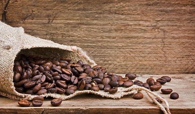 Koffiebonen tegen muffe geur in huis