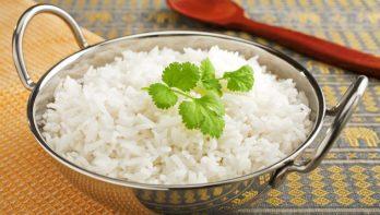 Rijst of aardappelen laten rusten