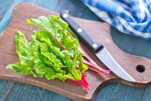 Salade met snijbiet