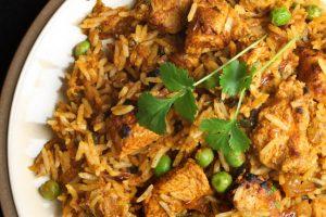 Indiase kip met koriander