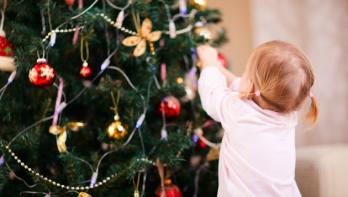 Geschiedenis van de versierde kerstboom