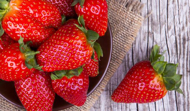 Heerlijke aardbeien