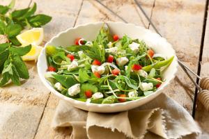 Frisse salade recept bbq