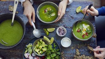 Mexicaanse posole verde (feestsoep)