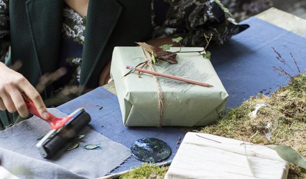 DIY: last minute cadeaupapier