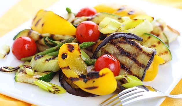 Recept: gegrilde groenten