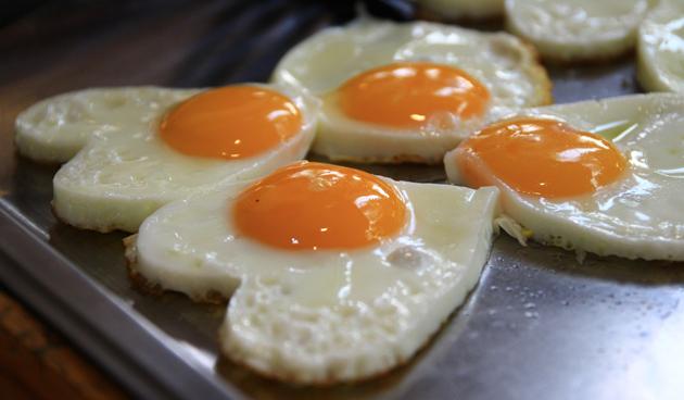 gebakken ei