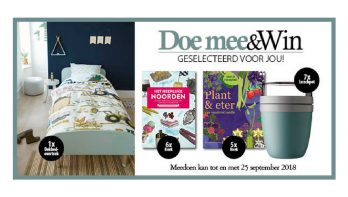 Doe mee en win augustus-september 2018