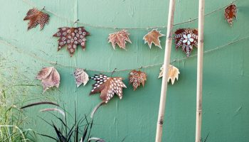 Herfstslinger maken