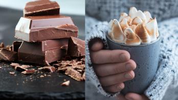 Recept chocolademelk met meringue