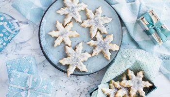 Snowflakes zure room koekjes