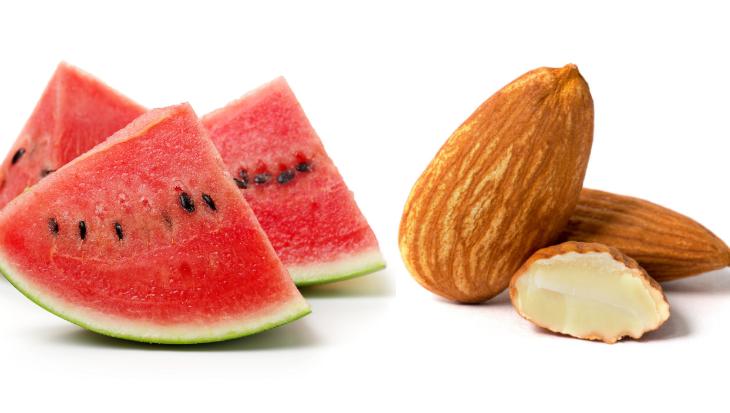 amandel watermeloen