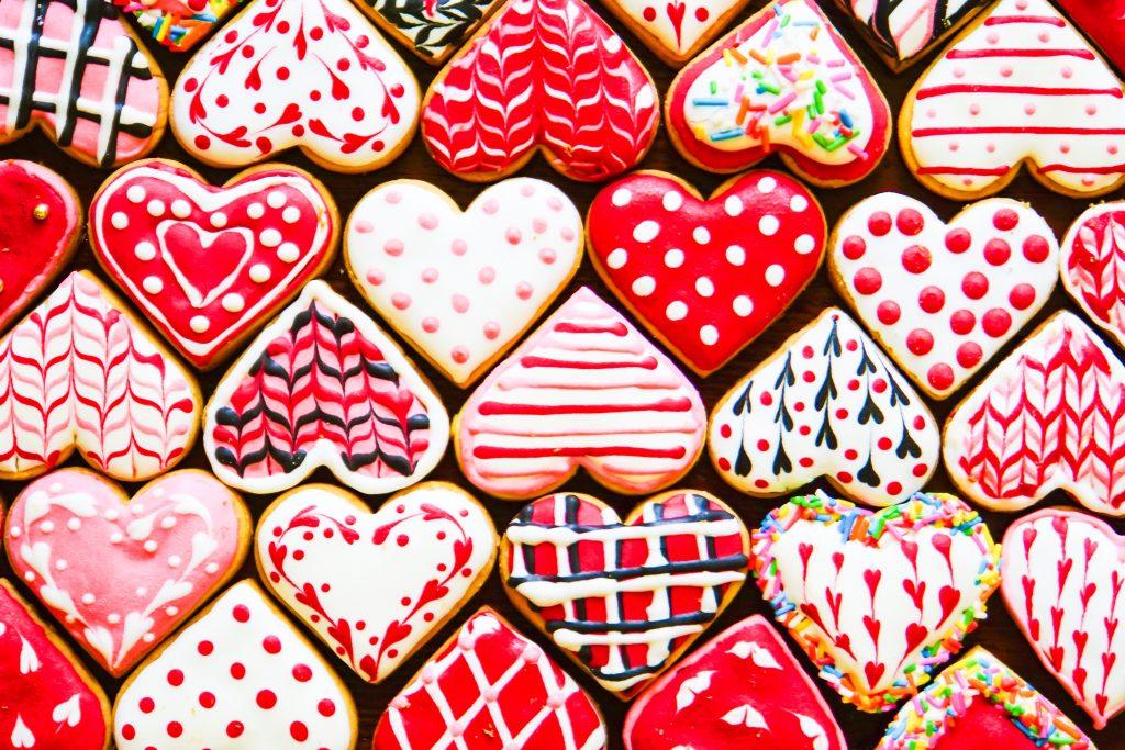 Valentijnskoekjes 2