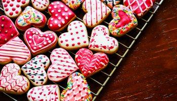 Valentijnskoekjes shutter