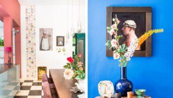 Kleurrijk interieur met knipoogjes: binnenkijken bij interieurontwerper Linda Ubachs