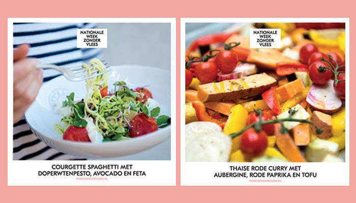 Week zonder Vlees vegetarische recepten
