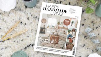 Nieuw creatief magazine: Happy Handmade Living!