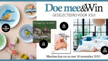 Doe mee en win oktober-november 2019
