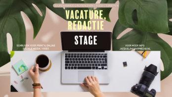 Vacature redactiestagiair: Energieke duizendpoot gezocht