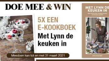 Win! E-kookboek: Met Lynn de Keuken in