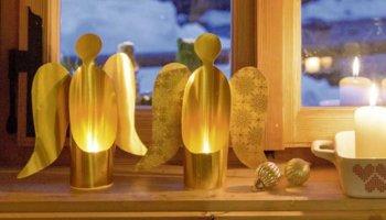 DIY gouden engel