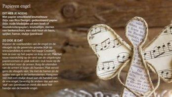 DIY papieren engel
