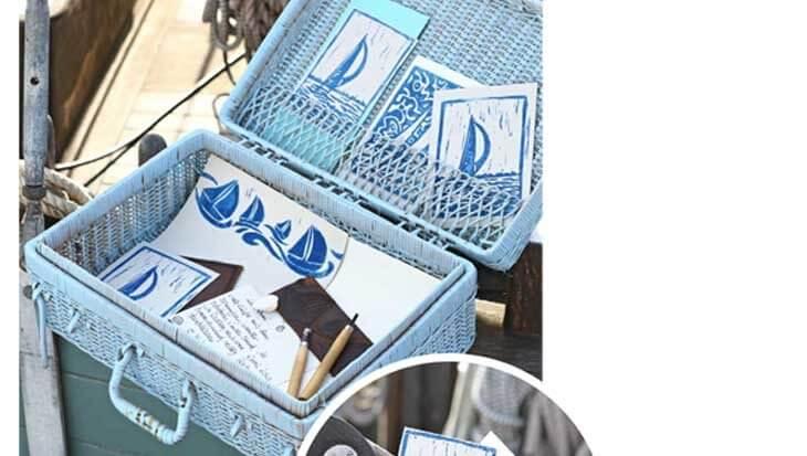 DIY strandkaarten