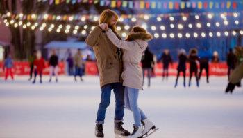 Kerstactiviteiten schaatsen