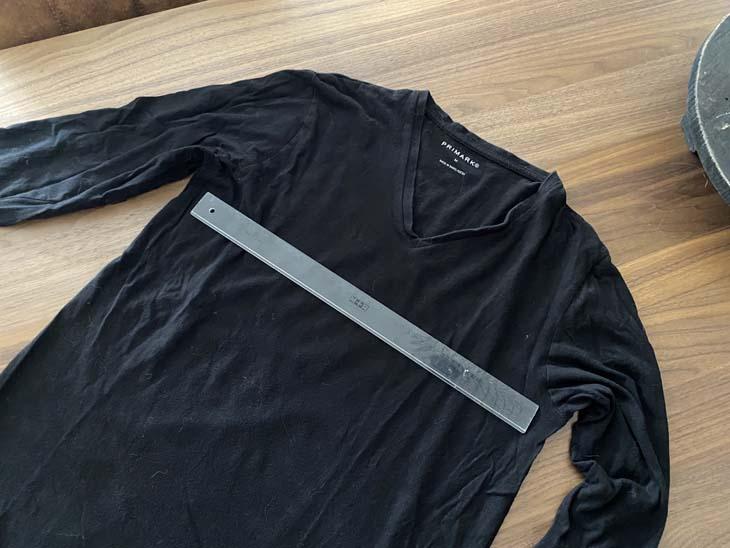 Oud shirt hergebruiken