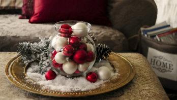 Originele tafeldecoratie voor kerst